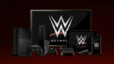 WWE Network Premium Account⚡️12 Months Warranty⚡️Works In UK Instant Delivery