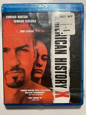 American History X (Blu-ray Disc, 2009) FACTORY SEALED!
