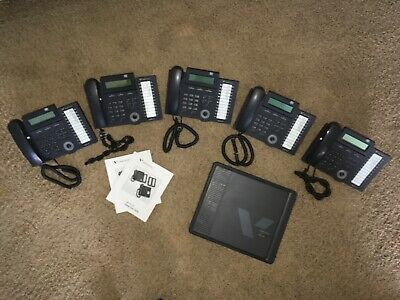 Vertical SBX 320/IP Phone System Bundle (5 phones and expansion cabinet)