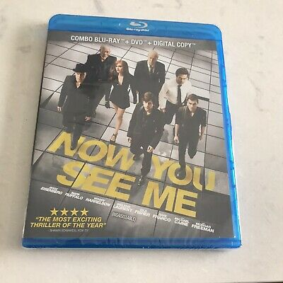 NOW YOU SEE ME Blu-ray / DVD / Digital Copy NEW 2013, Bilingual, Free Shipping