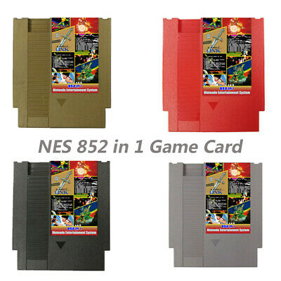 852 in 1 Duo NES Games Card For Nintendo Cartridge Multi Cart 405 & 447 in 1 USA