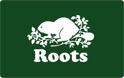 Roots Gift Card - $124.29 Mail Delivery