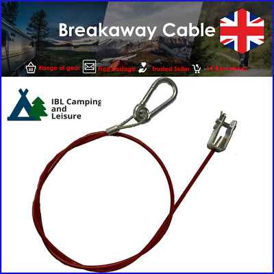 10pcs Breakaway cable,clevis type suitable for trailers and caravans