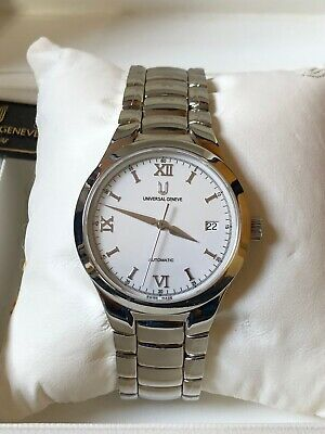 Watch Universal Geneve Automátic, All Steel, New Old Stock, Full Set