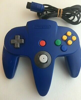 Nintendo 64 N64 Controller - Blue- AUTHENTIC | ORIGINAL | OFFICIAL | TESTED!