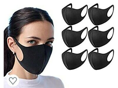 Reusable PM2.5 Mouth Face Mask Anti Virus ,Smoke Pollution 3D Masks  New sealed