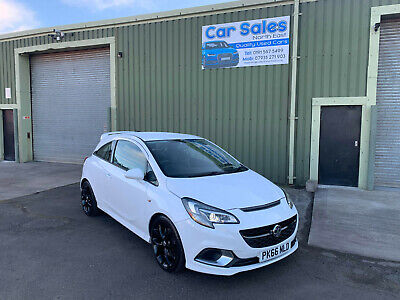 2016 Vauxhall Corsa Vxr 1.6 Turbo Manual In Olimpic White Excellent Low Mileage