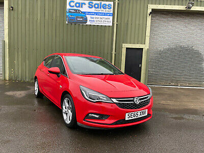 2016 Vauxhall Astra Sri Red 1.6 Diesel Manual Low Mileage  *Excellent Condition