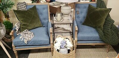 Pair Of Nordic Style French Style Chairs