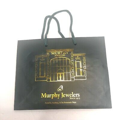 Murphy Jewelers Rolex Store Front Shopping Bag Green Gold Gift