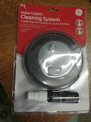 GE Radial CD/DVD Cleaning System # 72597 New Seal Opened