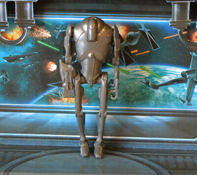 Star Wars FIGURE 2013 SAGA LEGENDS SUPER BATTLE DROID (ATTACK OF THE CLONES)