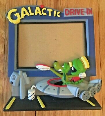 Vintage Marvin The Martian Galactic Drive-In Picture Frame