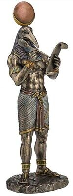 Thoth Egyptian God of Knowledge Statue Sculpture Collectible Figurine Decoration