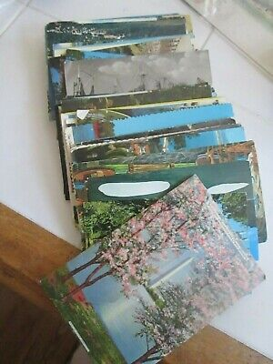 Lot Of  100+  Postcards Mostly 1950-1960'S Scenic