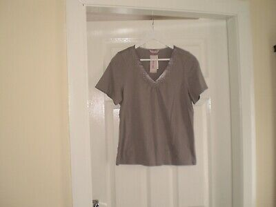 """Blouse""""Per Una"""" M&S Sleepwear Grey Colour Size:14 ( UK ) New With Tags"""