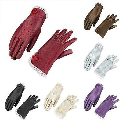 Women Elegant Lace Gloves Bridal Wedding Summer Driving UV Gloves Hot Y2A9