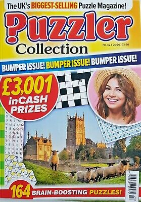 Puzzler Collection Mag 2020 # 423 = 164 Brain-Boosting Puzzles