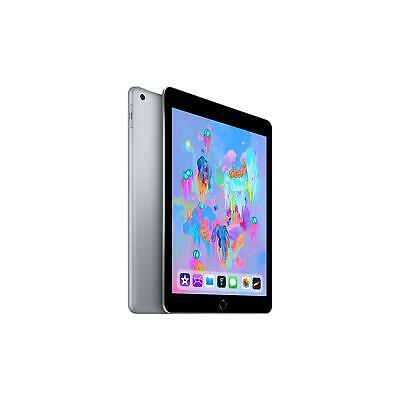 Apple iPad 6th Generation 128GB Wifi and Cellular (Space Grey)