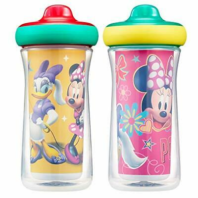 The First Years Disney Minnie Mouse Insulated Hard Spout Sippy Cups, 9 Ounce