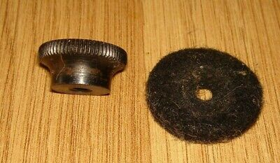 Singer 401G, Slant-o-Matic sewing machine oil tray thumb screw nut spare parts