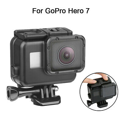 Fit Gopro Hero 7 Black 60m Waterproof Diving Housing Case Cover Protective Shell