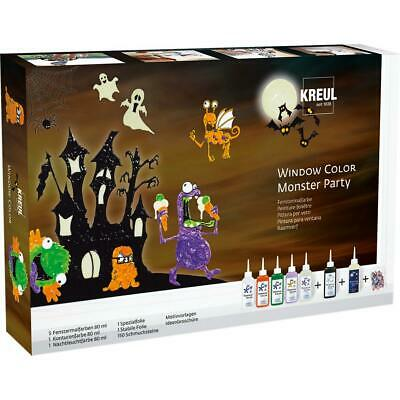 Window Color 'Monster Party', Set KREUL 42850 (4000798428501)