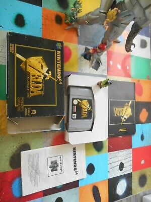 "~~ * ~~  ZELDA  ""  OCARINA  oF  TIME ""  ~~ EUR ~   NINTENDO  64   * 1998 -~~-~*"
