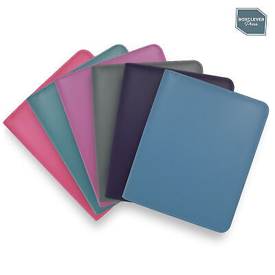 Boxclever Press Essential A5 Diary Cover. Zip-around cover in faux leather