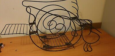 Old wire plant stand