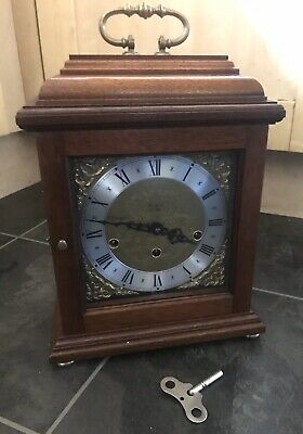 Franz Hermle Woodford Triple Chime 8-Day Bracket Clock