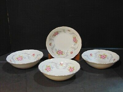 Vintage Royal Albert/Tranquillity/Set of 4 Matching Small Bowls