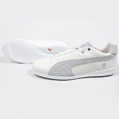 Puma Men's FUTURE CAT LS SF Shoes White/Grey 305811-03 a