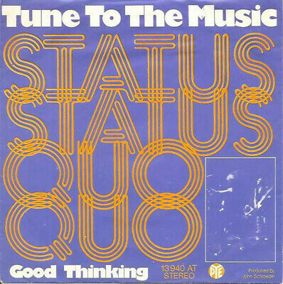 Status Quo / Tune To The Music / Vinyl / Hardrock / Heavy / AOR / Pye Records
