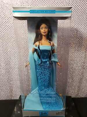 December Turquoise Barbie Doll Birthstone Collection 2002 Mattel B2397 Nrfb