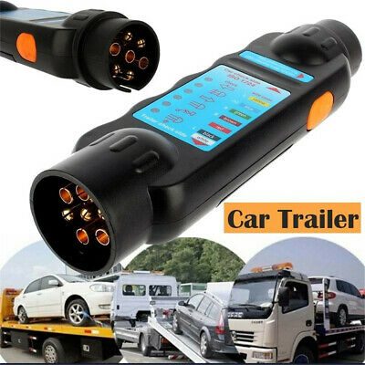 Circuit  Socket  Towing Lights  Car Adapter Diagnostic Cable Trailer Tester