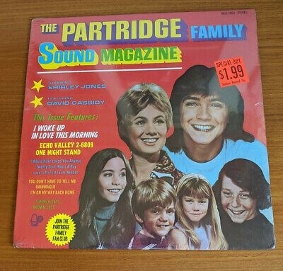 Partridge Family Sound Magazine 1971 Vinyl LP Record Album David Cassidy SEALED!
