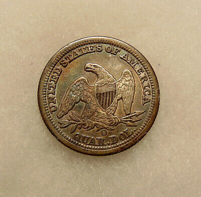1856-O Liberty Seated Quarter - Better Date - Sharp Looking Coin  FREE SHIPPING