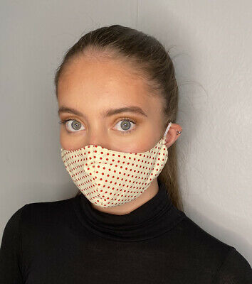 Adult UK Face Mask Breathable Washable Protective Covering Nose Mouth