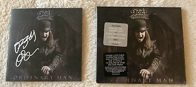 OZZY OSBOURNE Ordinary Man Deluxe Softpack CD + Signed CD Booklet