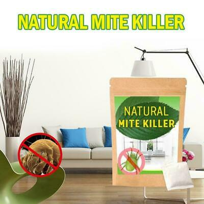 6Pcs/ Dust Mites Killer Mite Eliminator Natural For Bed Couch Pillow Sheet W7M2