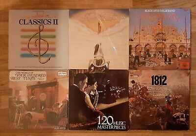 Orchestra Band Classical Music Record Lot