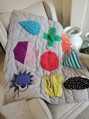 Land of Nod Activity Baby Blanket Quilt