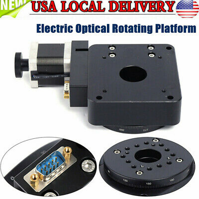 Electric Optical Rotating Platform Motorized Rotary Table Rotation Stage Φ100mm