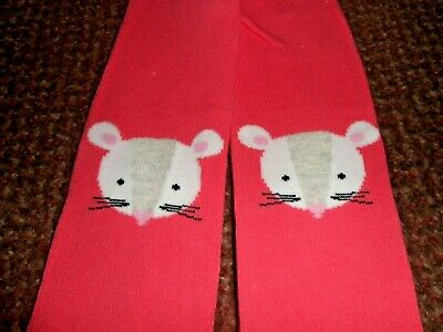 new Girls cute MOUSE GEORGE Tights 3-4 YEARS - BNWOT