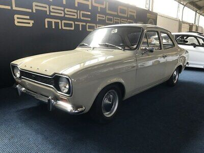 Escort Mk1 1969 Lhd      This Car Now Sold