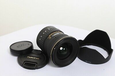 Tokina At-X Pro Sd 12-24Mm F/4 If Dx Para Canon Eos Ef-S Efs  Gran Angular Zoom