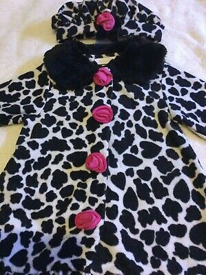 Bonnie Baby  Jacket Coat and Hat 24 Months 2 years