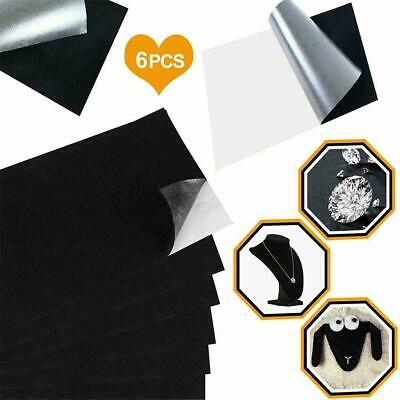10 Pieces Self Adhesive Back Felt Sheets Fabric Sticky Craft Art Making L2A9