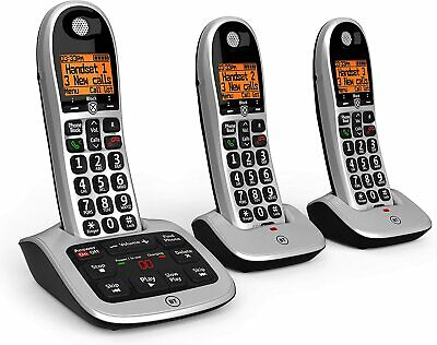 BT 4600 Trio Big Button Digital Cordless Telephones with Advanced Call Blocker